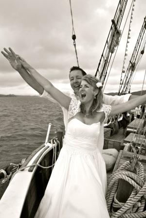 Jules boat ceremony
